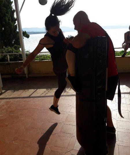 KK Mladost na treningu  sa  Agoscsom Sensei