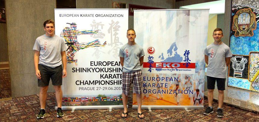Hrvatski kyokushin na kadetskom EP